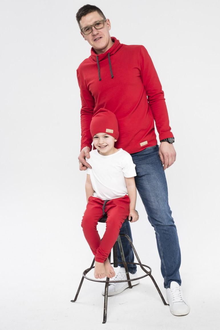 2Komplet damski - tunika /bluza i spodnie baggy