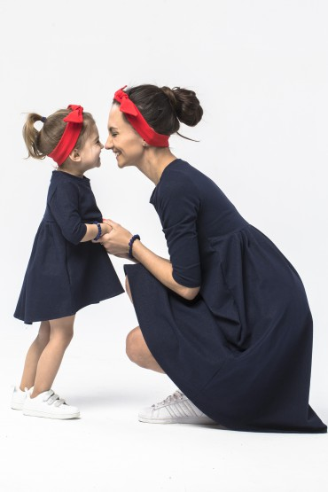Opaska casual Family in Red