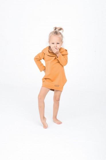 dresowa tunika dla dziewczynki