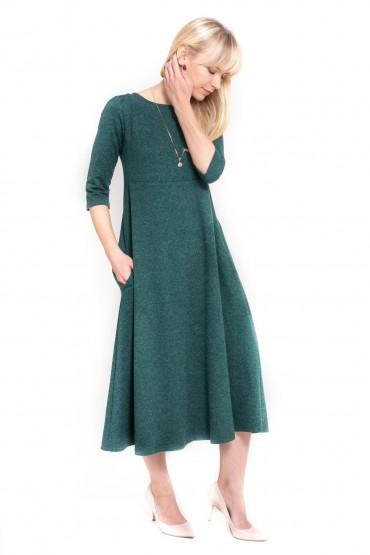 Ponadczasowa sukienka midi
