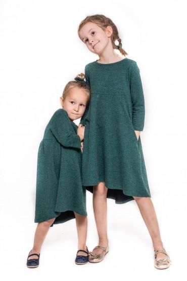 Komplet sukienek dla siostrzyczek