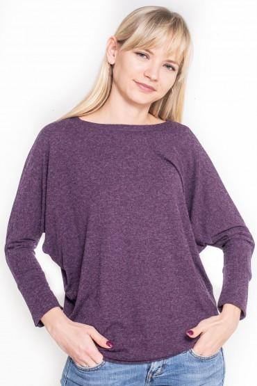 Fioletowa bluzka damska