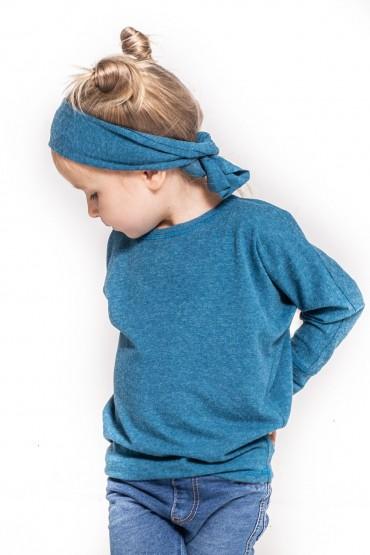 Bluzka dla dziewczynki typu nietoperz - Blue Sky