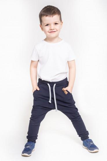 copy of Spodnie baggy dla chłopca i dziewczynki - zieleń