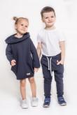 2copy of Spodnie baggy dla chłopca i dziewczynki - zieleń