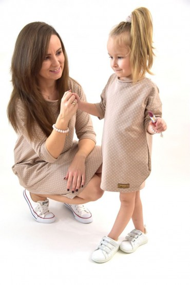 Mama i córka takie same sukienki