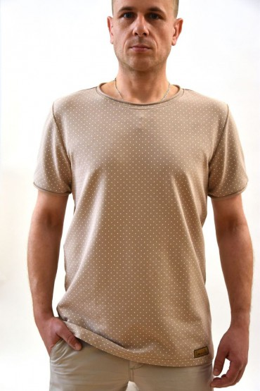 copy of Cotton men's casual T-shirt with pocket