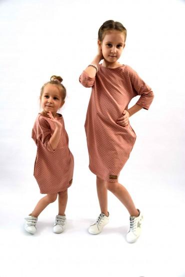 Takie same sukienko - tuniki dla siostrzyczek