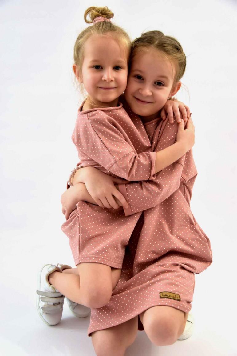 2Takie same sukienko - tuniki dla siostrzyczek