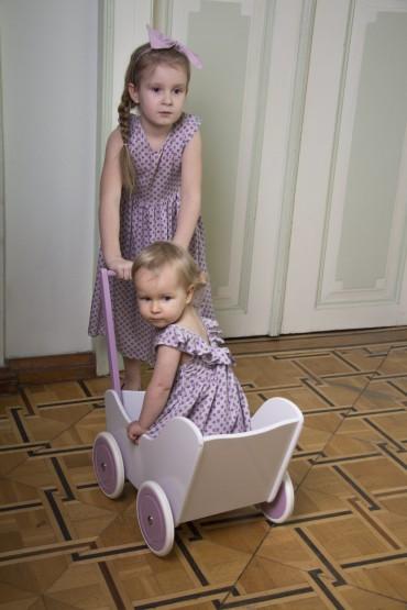 letnie sukienki takie same dla siostrzyczek