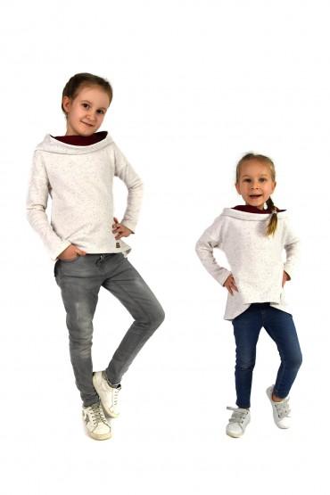 Bluzy dla siostrzyczek takie same