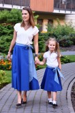 2Mother and daughter matching skirts set