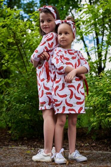 Komplet tunik dla siostrzyczek - Chilli-out