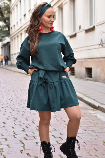 Headband for woman - green