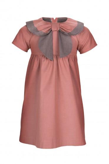 Sukienka Retro z kołnierzem mini