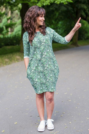 Women's tunic dress with pockets