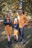 2Komplet dresowych tunik dla mamy i córki