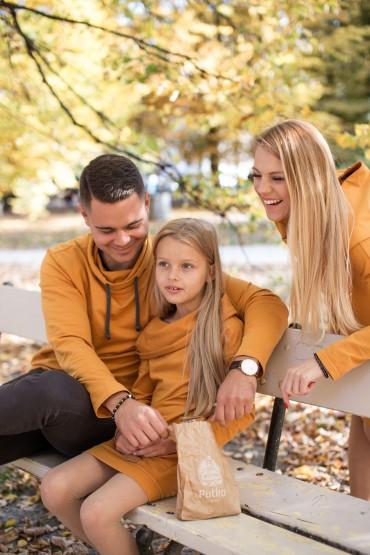 Komplet tata i córka