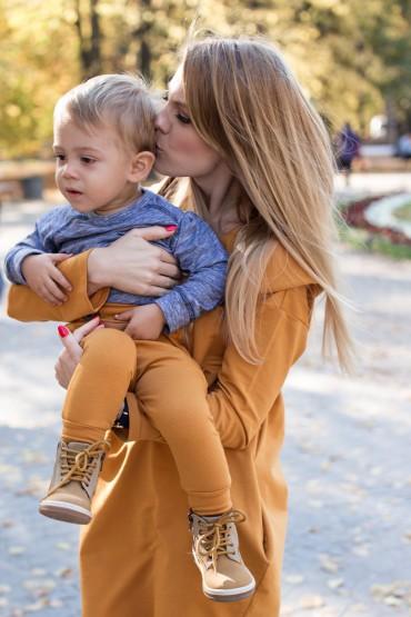 Komplet mama i syn lub córka